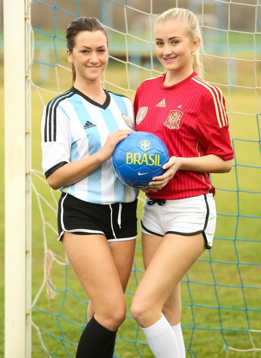 [ClubSevenTeen] Cayla, Tess - Argentina VS Spain [HD 720p]