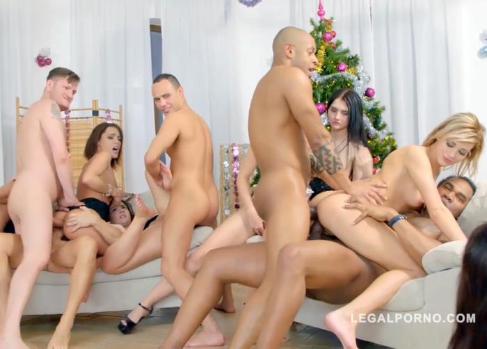 10v10 christmas orgy