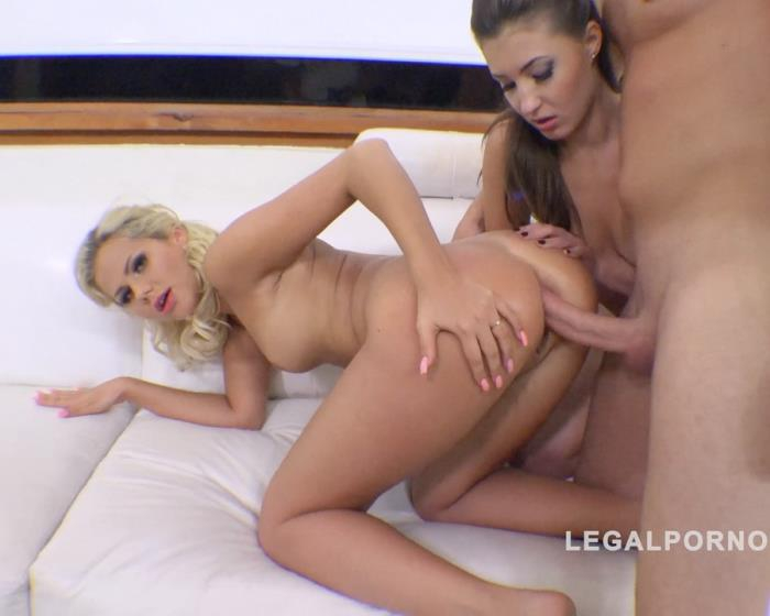 [LegalPorno] Katie Montana, April Storm - Anal Threesome (Gapes, ATM, ATOGM) RS196 (2016) [HD 720p]