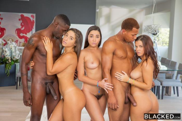 [Blacked] Abella Danger, Keisha Grey, Karlee Grey - Squad Goals (2016) [HD 720p]