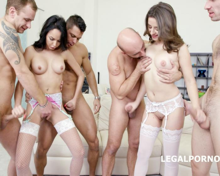[LegalPorno] Francys Belle, Gabriella - Double Addicted With Francys Belle And Gabriella DP/DAP/Gapes/Prolapse/Cuswapping GIO289 (2017) [FullHD 1080p]