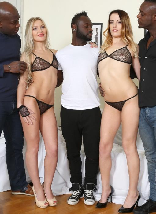[LegalPorno] Cristina Tess, Samantha Joons - Those Two Bitches Have Real Passion For Big Black Cock IV044 (2017) [HD 720p]