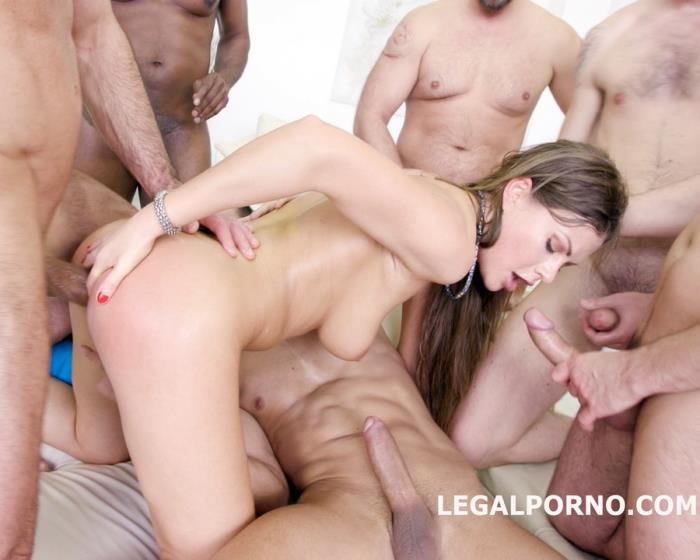 [LegalPorno] Tina Kay - 7 On 1 Double Anal GangBang With Tina Kay No Pussy/Balls Deep Anal/DAP/12 Swallow/No Doubt She Is A Pro Slut! GIO333 (2017)