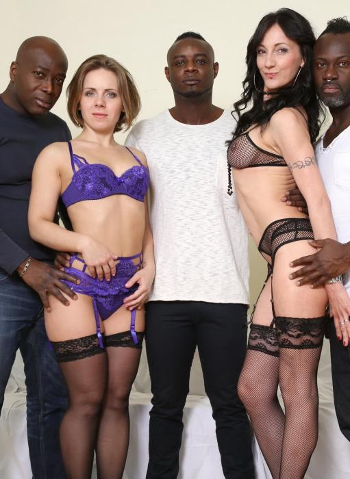 [LegalPorno] Sasha Zima, Lyna Cypher - Sasha Zima And Lyna Cypher Know How To Spice Three Black Guys Day. Fisting Kinky Sex And Rough Play IV056 (2017) [HD 720p]