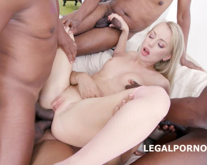 [LegalPorno] Kira Thorn - 7 On 1 BBC GangBang, Kira Gets Her Dream: Only Black Guys And Only In The Ass GIO417 (2017)