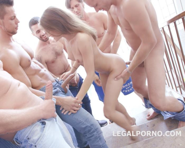 [LegalPorno] Evelina Darling - 9 On 1 Double Anal Gang Bang With Evelina Darling, Balls Deep Anal, Intense DAP, More Dap, 9 Swallows GIO431 (2017) [HD 720p]