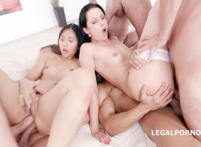 [LegalPorno] July Sun, May Thai - Double Ravage 2 With Mai Thai And July Sun 6 On 2 Manhandle, Submission, DAP Balls Deep, Gapes, Prolapse Licking GIO412 (2017) [HD 720p]