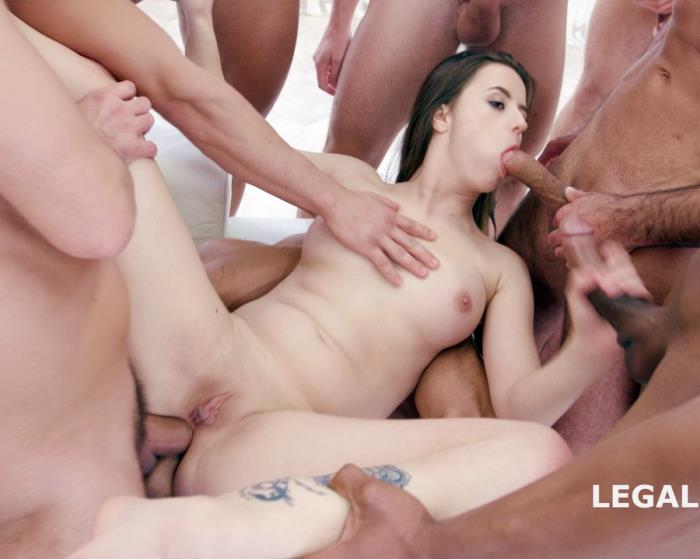 [LegalPorno] Gabriella - 15 On 1 TP GangBang With Gabriella Balls Deep Anal, DAP, TP, Gapes, Final DP, 17 Cumshots With Facial And Swallow GIO455 (2017) [HD 720p]
