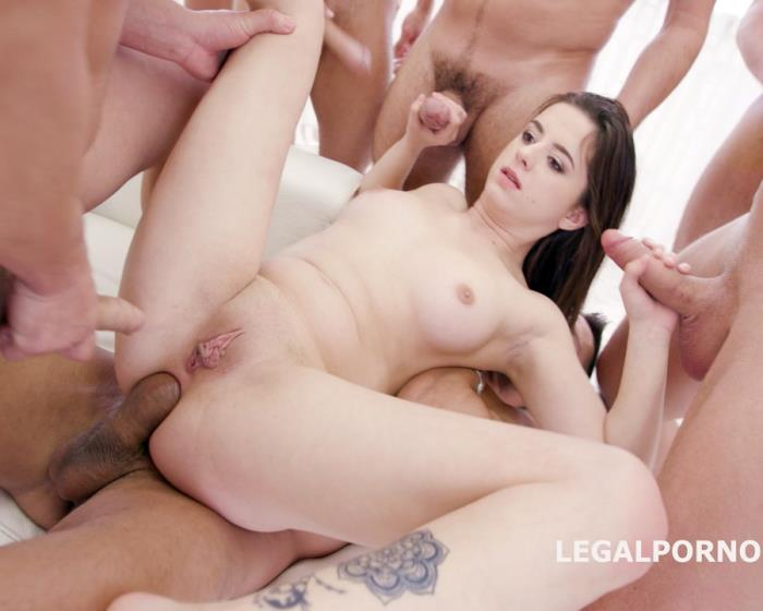 [LegalPorno] Gabriella - 15 On 1 TP GangBang With Gabriella Balls Deep Anal, DAP, TP, Gapes, Final DP, 17 Cumshots With Facial And Swallow GIO455 (2017) [FullHD 1080p]