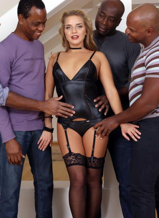 [LegalPorno] Sofi Goldfinger - Bitch Sofi Goldfinger Deals With Four Black Cocks IV121 (2017) [HD 720p]