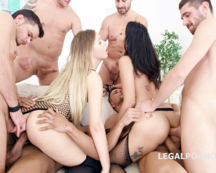 [LegalPorno] Selvaggia, Jureka Del Mar - All Over In with Selvaggia And Jureka Del Mar 2 - Balls Deep Anal, DAP, Nelson, Fist And Dick, TAP, Messy Cumshot GIO491 (2017)
