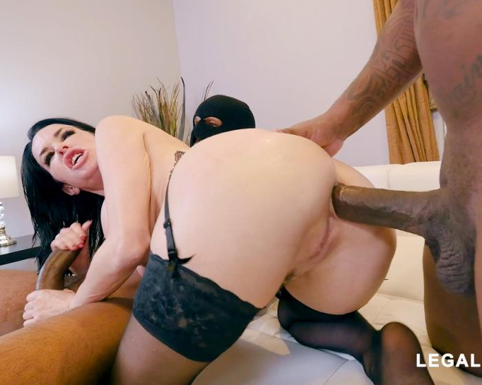 [LegalPorno] Veronica Avluv - Black Robbers Invade Veronica Avluvs Ass And Pussy AB003 (2018)