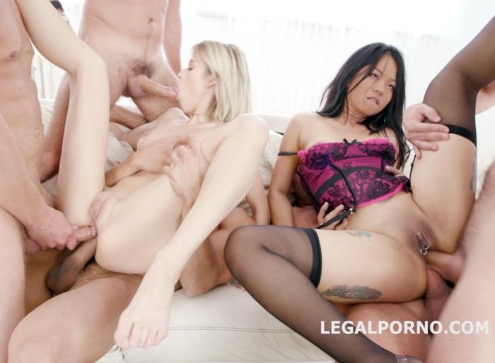 [LegalPorno] Ria Sunn, Jureka Del Mar - Some Kind Of Monster With Ria Sunn And Jureka Del Mar TP, Tunnel View DP, Squirt To Mouth, Gapes, Prolapse Licking GIO454 (2018)
