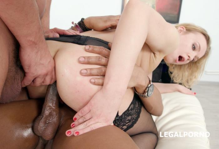 [LegalPorno] Liberta Black - Welcome To Porn With DAP Breaking For Liberta Black Balls Deep Anal, DP, DAP, Swallow GIO580 (2018) [HD 720p]