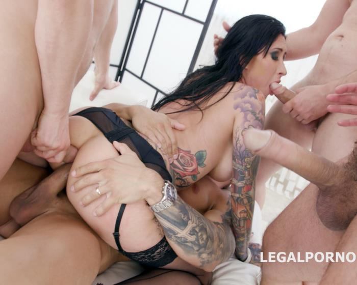 [LegalPorno] Lily Lane - Monsters Of DAP With Lily Lane Balls Deep Anal, Balls Deep DAP, Gapes, Swallow GIO659 (2018)