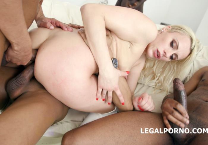 [LegalPorno] Brittany Bardot - Waka Waka! Blacks Are Coming! Brittany Bardot 5 On 1 BBC With Balls Deep Anal, Gapes, Squirt, Facial GIO (2018)