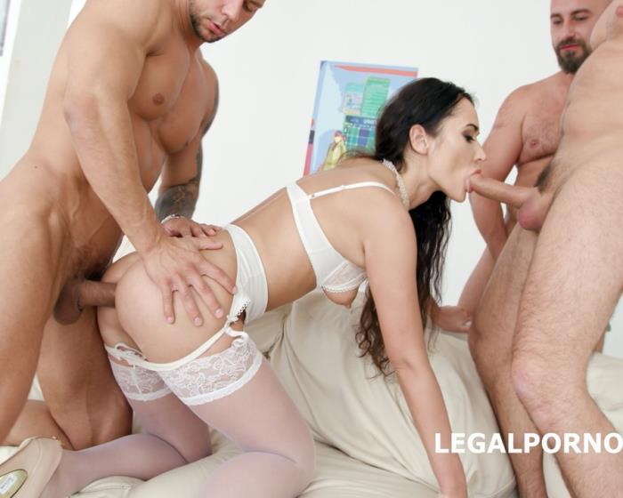 [LegalPorno] Angie Moon - Blackened With Angie Moon 4BC Plus 4BBC Equals Double Session Balls Deep Anal, DAP, Gapes, 4 Swallows, 4 Facials GIO676 (2018)