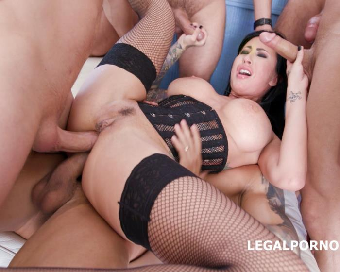 [LegalPorno] Lily Lane - 7 On 1 DAP Gangbang With Lily Lane Balls Deep Anal, DAP, Gapes, Facial GIO662 (2018) [HD 720p]