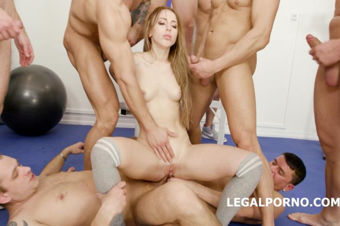 [LegalPorno] Kira Thorn - 10 On 1 Anal, DAP, TP Gangbang With Kira Thorn With Big Gapes And 10 Swallows GIO605 (2018) [UltraHD 4K]