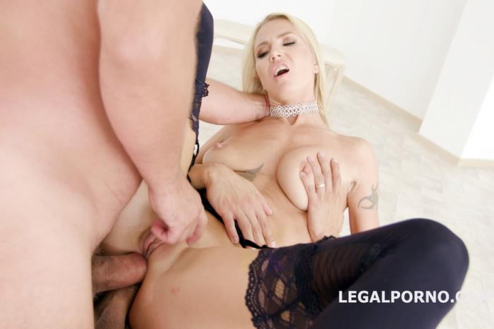 [LegalPorno] Alina Long - Double Anal Creampies Alina Long Gets Anal, DP, First DAP And Creampie GL018 (2018)