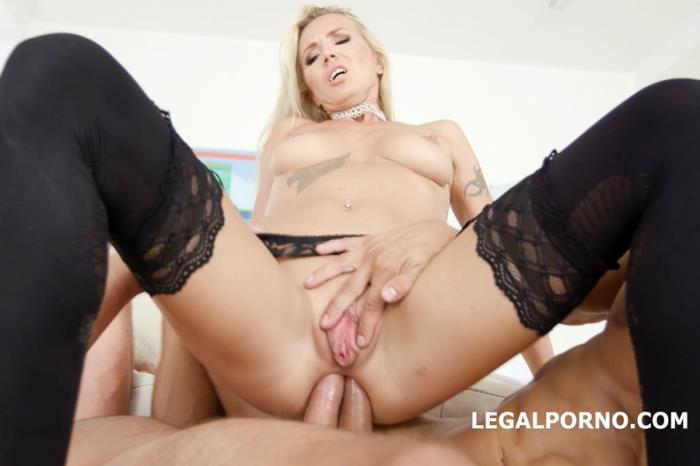 [LegalPorno] Alina Long - Double Anal Creampies Alina Long Gets Anal, DP, First DAP And Creampie GL018 (2018) [FullHD 1080p]