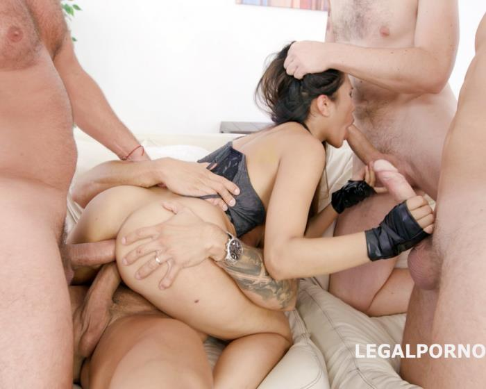[LegalPorno] May Thai - BlackEnded With May Thai 4 White Then 4 Black No Pussy, Balls Deep Anal, DAP, Gapes, Swallow, Facial GIO722 (2018)