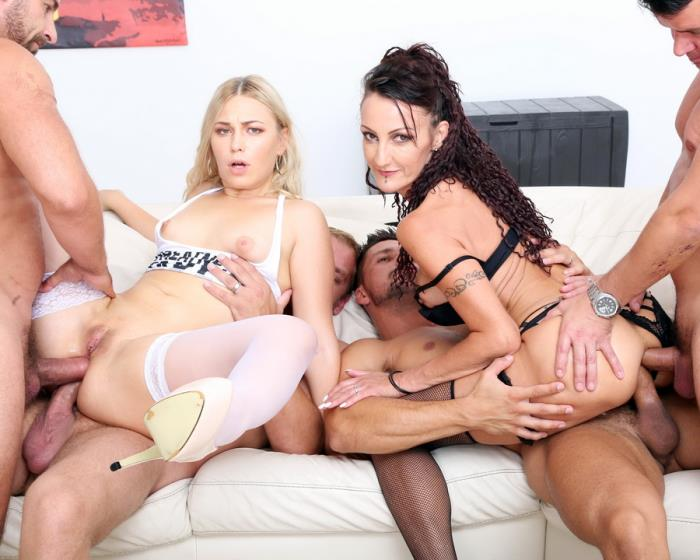 [LegalPorno] Selvaggia, Lyna Cypher - Gapes N Roses Lyna Cypher Vs Selvaggia Balls Deep Anal, ATOGM, Gapes, Prolapse, Creampie Fantasy GIO777 (2018) [HD 720p]