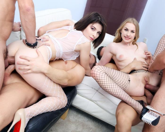 [LegalPorno] Madison Lush, Sara Bell - Double Addicted With Anal Fisting, Sara Bell Meets Madison Lush For Balls Deep Anal, DAP, Gapes GIO857 (2018) [HD 720p]