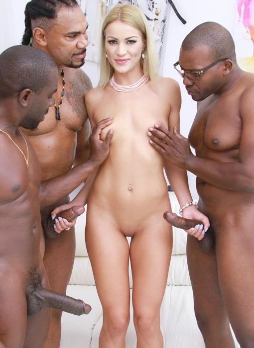 [LegalPorno] Cherry Kiss - Cherry Kiss Drinks BBC Piss (Interracial 3 On 1 Anal DP) SZ2041 (2019) [HD 720p]
