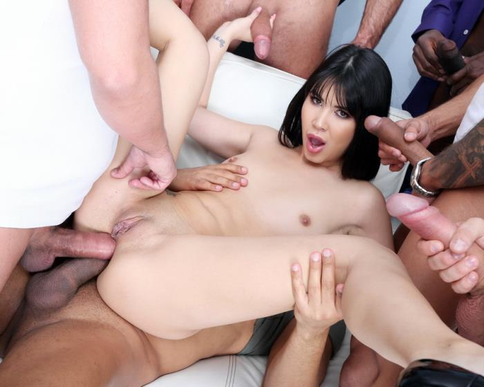 [LegalPorno] Lady Dee - 7 On 1 DAP Gangbang With Lady Dee Balls Deep Anal, Gapes, Creampie And Swallow GIO1050 (2019) [HD 720p]