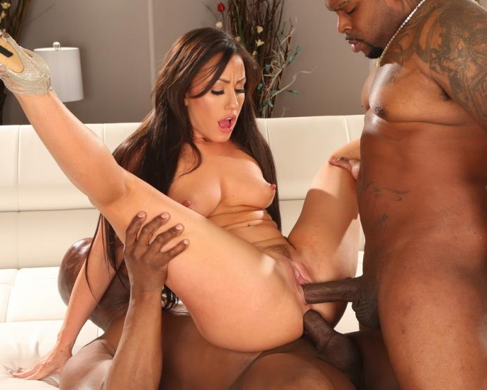 [LegalPorno] Jennifer White - Sexy Slut Jennifer White Takes Two Big Black Cocks AB009 (2018) [HD 720p]