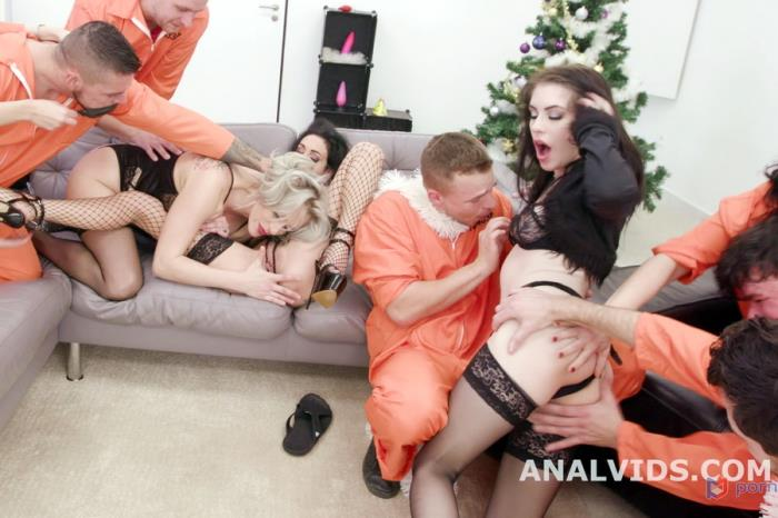 [LegalPorno] Anna De Ville, Brittany Bardot, Laura Fiorentino - Fuck, This Aint Normal Christmas 1 Wet, Mad House, Balls Deep Anal, DAP, Gapes, Pee Drink, Buttrose And Creampie GIO1671 (2020) [UltraHD 4K]
